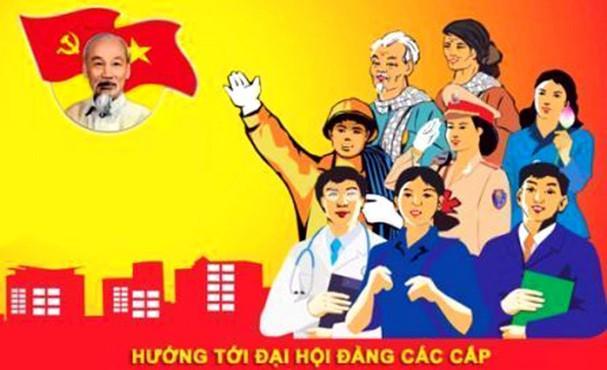 Hướng dẫn trang trí khánh tiết đại hội Đảng bộ các cấp nhiệm kỳ 2020 – 2025